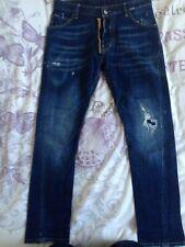 DSQUARED DSQ2 Neuf Noir Jeans BMWT VOIR TAILLES meilleur prix Livraison gratuite!
