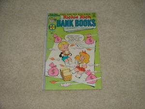 RICHIE RICH BANK BOOK$ #25 Harvey Comics Oct 1976 Very Fine+ 8.5 Ships Free