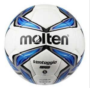 Molten In/Outdoor Magic No.5 Football Soccer Leather Training W Mesh + Needle