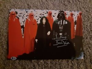 'STAR WARS' DAVE PROWSE SIGNED PHOTO PRE-PRINT