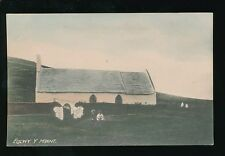 Wales Cardiganshire Eglwys y MWNT c1900/10s? PPC local photo by S H Davies