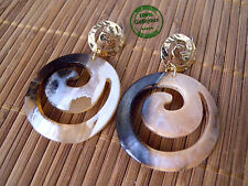Orecchini Earrings in Resina Cerchi Donna Ragazza Etnic Hipster Alta Bigiotteria
