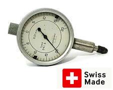 Brown Amp Sharpe Tesa Dial Test Indicator 001mm Compac Geneve Swiss Serial 341s