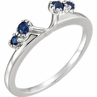 Solitaire Ring Guard Wrap Enhancer 10k Real Gold
