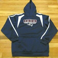 NFL NEW ENGLAND PATRIOTS PERFORMANCE SWEATSHIRT SIZE YOUTH XL