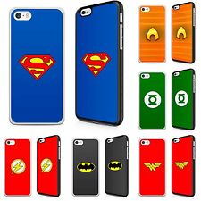 Phone Hard Case Cover DCU Superheroes Comic Characters for Samsung Galaxy Models
