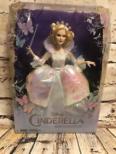 "Disney Collector 12"" Doll Cinderella Fairy Godmother 2014"