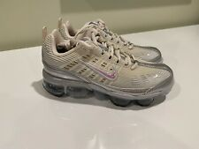 Nike Air Vapormax 360 Womens CK2719-200 Fossil Silver Running Shoes Size 6