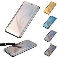 Nuevo Fundas y carcasas  Lujo espejo Slim funda Para Samsung Galaxy S6 Edge Plus