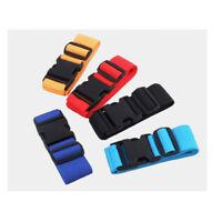 2pcs Adjustable Travel Luggage Suitcase Bag Securing Belt Straps Baggage Tie