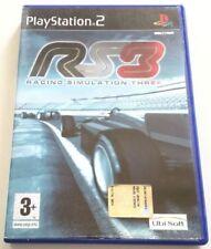 RACING SIMULATION THREE RS3 PS2 ITALIANO PLAYSTATION 2 SPED GRATIS SU + ACQUISTI