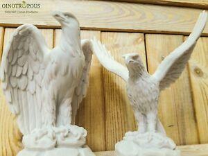 Set of Eagles /Eagle bird of prey - Eagle Sculpture, Eagle figure