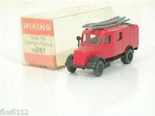 Wiking Feuerwehrauto,Löschfahrzeug,Lkw,Opel 39,OVP