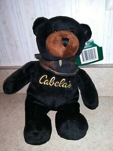 """Burt Cabela's 8"""" Bean Bag Plush Bear"""