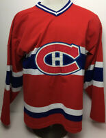 VINTAGE 1980 MONTREAL CANADIENS Mats Naslund #26 MASKA NHL HOCKEY JERSEY Size M