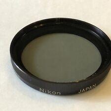 Nikon filter//filtro 52mm X0 Verde  new//nuovo