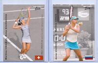 "ANNA KOURNIKOVA VS. MARTINA HINGIS 2003 NETPRO ELITE ""MATCHUP"" ROOKIE CARD!"