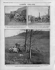 Field kitchens British Army Red Cross Tommies Roastbeef Artillery War 1915 WWI
