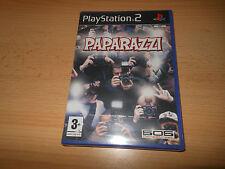 PAPARAZZI PS2 JUEGO NUEVO PRECINTO DE FÁBRICA PAL Reino Unido Sony Playstation