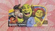 Shrek The Third McDonald's Collectible Gift Card NO VALUE New RARE
