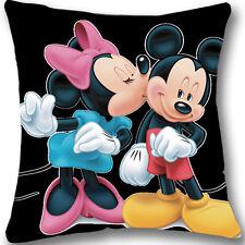 Mickey Mouse Custom Zippered 18x18 Cushion Cover Case Decorative Pillowcase L201