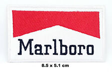 Vintage Marlboro Cigarette F1 Jacket Jeans Iron-on Embroidered Patch T-Shirt