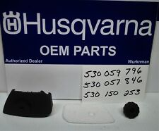 AFK3 Genuine OEM Husqvarna Cover Air filter Knob 530059796 530057846 530150253