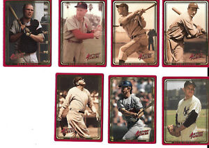 1993 Action Packed Baseball Card Lot of 7 - Includes Babe Ruth!!  NM/M