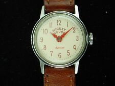 Vintage US Time/Ingersoll Mickey Mouse Watch - Runs !