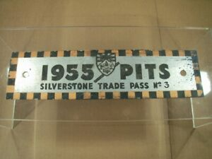 VERY RARE BRDC / SILVERSTONE TRADE / PITS PASS (DATED 1955)