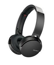 Véritable Sony mdr-xb650btb Bluetooth BASSE SUPPLÉMENTAIRE casque - Noir xb650bt