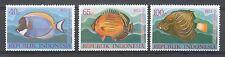 Indonesië Zonnebloem  756 - 758 postfris  motief dieren / vissen