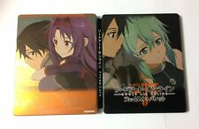NEW GEO Bonus Special Steel Book Case of Sword Art Online Fatal Bullet JAPAN