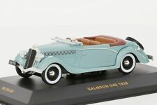 Salmson S4E 1938 IXO Light Green 1:43 NEW OVP MUS038