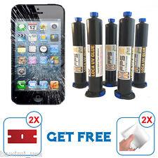FPS PREMIUM LOCA UV GLUE 50ml LCD GLASS REPAIR APS 340 346 Samsung Galaxy Iphone
