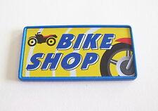 PLAYMOBIL (R313) GARAGE - Pancarte Bike Shop Atelier de Réparation Motos 3992
