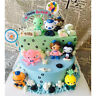 8pcs The Octonauts Barnacles Captain Figure Toys Action Figure Doll For Baby Kid