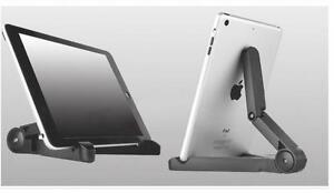 Folding Adjustable Desk Holder Mount Stand For Phone Galaxy Tablet iPad Air 2 I