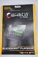 Zagg Invisible SHIELD Blackberry Playbook Screen Protector Opened Package