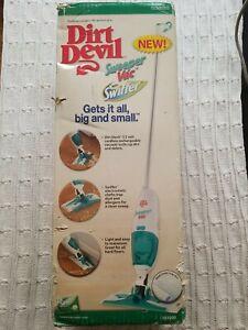 Dirt Devil Sweeper Vac  with Swifter NIB