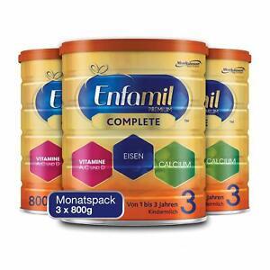 Enfamil Premium Complete 3 Kindermilch Pulver Kinder von 1-3 Jahren 3 x 800g