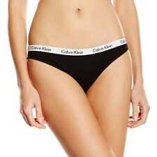 Calvin Klein Mujer Carrusel Bikini Breve, Negro
