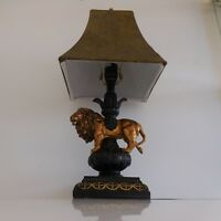 Lampe sur pied table culture vintage Egypte ancienne RED EAGLE made in ENGLAND