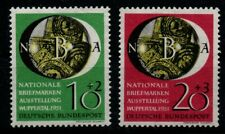 BRD Nationale Briefmarkenausstellung NBA Satz -postfrisch-