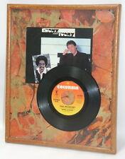 Paul Mcartney And Stevie Wonder Ebony And Ivory Framed Vinyl Art