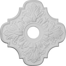 "17 3/4""OD x 3 1/8""ID x 1""P Ceiling Medallion (Fits up 5 1/2"" Canopy), CM6171"