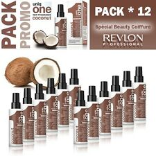 12 pezzi Revlon Uniq One Hair treatment coconut 150 ML
