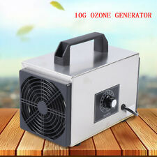 Ozone Generator Commercial Industrial Pro Air Purifier Mold Mildew 10g/h Machine