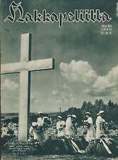 Finland Wartime Magazine Hakkapeliitta 1940 #24 - WWII German troops in France