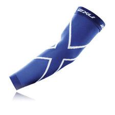 Abbiglimento sportivo da uomo blu di compressione taglia XS